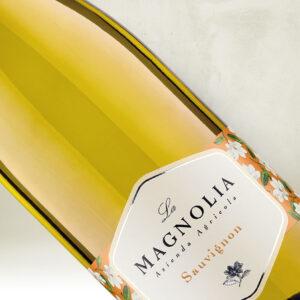 Magnolia Sauvignon etiket